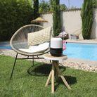 Lampe de jardin diffuseur d'huiles essentielles