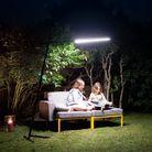 Lampe pour le jardin design
