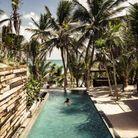 La piscine de l'hôtel Be Tulum à Tulum
