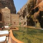 La piscine de l'hôtel Evason Ma'In Hot Springs à Sowayma (en Jordanie)