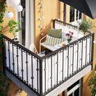Brise-vue pour le balcon