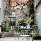 Créer un ambiance romantique dans le patio