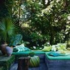 Jouer sur les textiles à motifs végétaux pour renforcer l'effet green