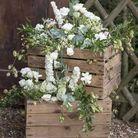 Recycler des cagettes en bois pour un esprit champêtre