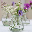 Un mini vase en verre