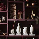 Vases décoratifs blancs