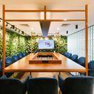 Une salle végétale