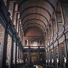 Bibliothèque de Trinity College à  Dublin, Irlande