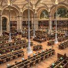 Institut national histoire art salle Labrouste à Paris, France