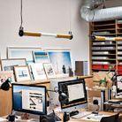 Les bureaux et l'open space, au mobilier sur mesure