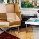 Réédition de la Table Villa Planchart de Gio Ponti