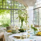 Une décoration de table rafraîchissante pour le printemps