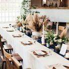 L'Herbe de la Pampa version décoration de table