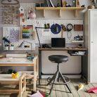 Un espace bureau pour petits et grands