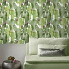 Du papier peint à motif cactus
