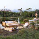 Multiplier les couchages (hamac, lit outdoor, banquette) dans le jardin