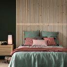 Une parure de lit en lin