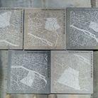Frangment de toit de Paris en zinc