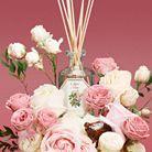 Diffuseur de parfum à la rose
