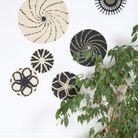 Corbeille murale en corde de papier Pimkie Home
