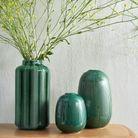 Vase en céramique graphique soldé La Redoute Intérieurs