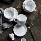 Assiette en porcelaine soldée H&M Home