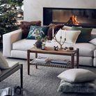 Table basse en bois soldée H&M Home
