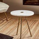 Table basse en marbre soldée Zara Home