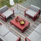 Une terrasse propice à la détente