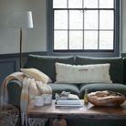 Un salon aux tonalités relaxantes