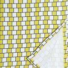 Torchon Damier Yellow Décoratoire