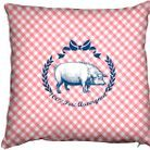 Decoration shopping tendance campagne ferme coussin