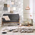 Réchauffez l'ambiance romantique avec tapis et plaid