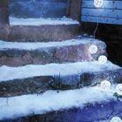 Deco noel exterieur neige delamaison