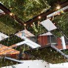 Le plafond végétal de La Cantine