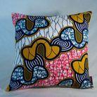 Coussin wax motifs