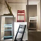 La chaise haute Stokke au Musée des Arts Décoratifs