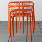 Tabouret Exterieur Orange Collection Printemps été 2016 Ikea