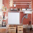 Nouveauté Ikea : structure de kitchenette SUNNERSTA