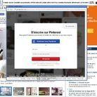 2) Connectez-vous à Pinterest