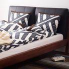 Une tête de lit en cuir
