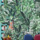 Papier peint style tropical