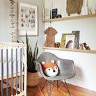 Une chambre de bébé élégante