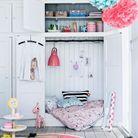 Chambre de petite fille avec cachette