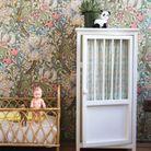 Armoire à rideaux pour la chambre d'enfant