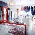 3. Un dressing en guise de rideau
