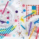 Le kit d'anniversaire à colorier