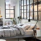 Chambre IKEA contemporaine