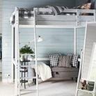 Un lit mezzanine IKEA