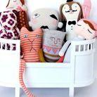 Un mini berceau à poupées